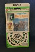 Walt Disney World Wdw A950 Sealed Liberty Square Viewmaster Reels Stapled Packet