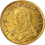 [857395] Coin France Louis Xv Louis Dand039or Aux Lunettes Louis Dand039or 1733