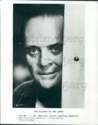 1991 Press Photo The Unnerving Stare Of Hannibal Lecter Anthony Hopkins Lambs