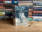 The Case Of The Abominable Snowman - Nicholas Blake 1941 1st Edition Crime Club