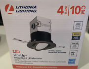 Lithonia Lighting Oneup 4 In. Oil Rubbed Bronze Integrated Led Recessed Kit