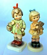 Mi Hummel Club 1995/96 Final Issue Two Figurines 4 Cuddles 2049/a And Gift 479