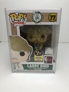 Funko Pop Basketball Boston Celtics- Larry Bird Autograph 77 W/ Coa