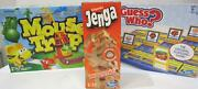 New Classic And Modern Board Games Monopoly + Guesswho + Mousetrap