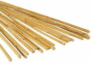 Bamboo Wooden Sticks Plant Trees Stakes Natural 3 Foot Garden Vegetable 25 Pack