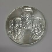 America In Space Apollo 14 .999 Silver 1971 Moon Mission Medal