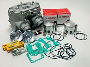 Banshee Athena 64mm Stock Bore Cylinders Wiseco Pistons Cool Head Turbo Dome Ngk