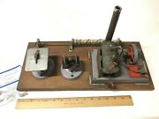 Large Scale Vintage Tin Toy Steam Engine Made In Germany With Extras Assembled