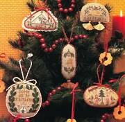 Mary Beale A Family Christmas Ii 5 Cross Stitch Charts/leaflet Xmas Oop