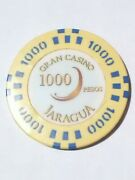 Gran Casino Jaragua 1000 Pesos Chip Great For Any Older Collection