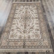 Yilong 5and039x8and039 Handwoven Silk Vintage Carpet Living Room Indoor Oriental Rug 059m