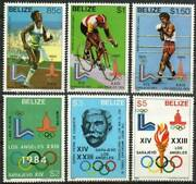 Belize Stamp - 84 Olympics, Summer And Winter Stamp - Nh