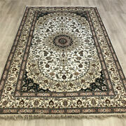 Yilong 5and039x8and039 Handmade Silk Area Rugs Home Decor Indoor Oriental Carpets 456b