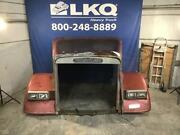 Red 1986 Freightliner Flt Hood Assembly W/ Headlamps