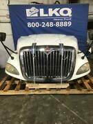 White 2011 International Prostar 122 Hood Assembly W/ Headlamps And Grille