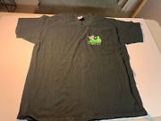 Vtg Rare 00s 'i Got Messed Up With Poison' Metal Tour Crew Band T Shirt - Xl