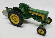 Vintage John Deere 430 Utility Tractor With 3 Point Hitch And Plow 1/16 Ertl Eska