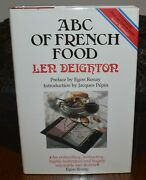 Abc Of French Food By Len Deighton 1989 1st Edition Hb/dj Uk Rare