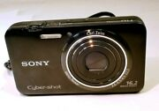 Sony Cyber-shot 16mp Digital Camera Dsc-wx9 Untested Without Charger As Is