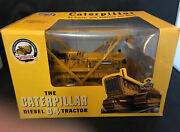 Acmoc Caterpillar D4 With Bulldozer And Winch /spec Cast 1/16