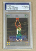 2007-08 Topps Chrome 131 Kevin Durant Rc Auto Seattle 2899.99