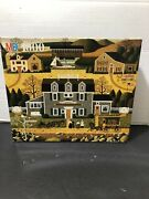 """Jigsaw Puzzle Mb 1000 Pc """"charles Wysocki"""" 4679-24 Moon Meadow Cove Complete"""