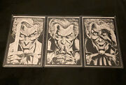Batman Three Jokers 1100 Variant Set Of All Three Books And Collectible Cards