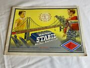 Walther Stable Metal Construction Kit Template Stitching To The Boxes 49-521956