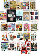 Choice Sewing And Craft Patterns For Bags, Totes, Storage, Purses