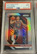 2018 - 19 Panini Prizm Silver Psa 9 78 Trae Young Rc Rookie Card