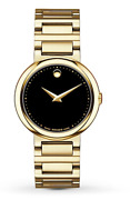 1495 Movado Concerto Gold-plated Stainless-steel Ladies Watch 0606420