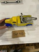 Golden Wheels Ford Motor Company Wrecker Tow Truck Town Country Rare