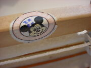 Rare 1970's Walt Disney Productions Huge Rice Paper Blind Rollup Mickey Mouse