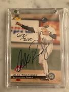 Alex Rodriguez Appleton Foxes Limited Edition Classic Games Autographed Card