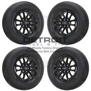 18 Ford F150 Gloss Black Wheels Rims And Tires Oem Set 4 2018-2020 10169