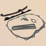 Cam Timing Chain Guides Tensioner Andcover Gasket For Honda Sportrax Trx400x 400ex