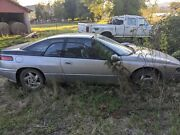 Subaru Svx Silver And Green Parts, Doors, Trim, Mirrors, Seats, Everything