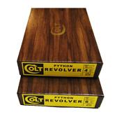 Colt Python Box - Yellow Label - Select From 2.5 4 6 8 And Blue Or Nickel