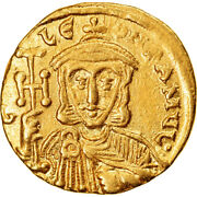 [894346] Coin, Leo Iii, Solidus, 745-750, Constantinople, Ms60-62, Gold