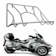 Chrome Tour Cargo Top Luggage Trunk Rack Kit For Can-am Spyder Rt Rts Rt Ltd Af