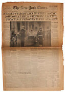 24 November 1963 And039and039the New York Timesand039and039 Reporting On Jfk