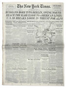 ''new York Times'' Newspaper From 24 April 1945