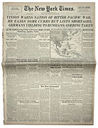 10 May 1945 New York Times Focus On Pacific After V-e