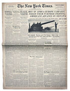 12 May 1945 New York Times European Cease Fire