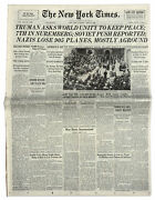 ''new York Times'' Newspaper From 17 April 1945