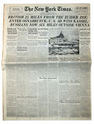 ''the New York Times'' From 4 April 1945