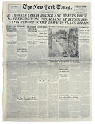 ''new York Times'' Newspaper From 19 April 1945