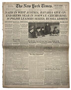 6 May 1945 New York Times Bavarians Surrender To Usa