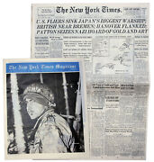 ''the New York Times'' From 8 April 1945