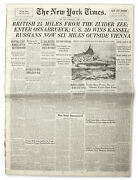 4 April 1945 Issue Of ''the New York Times''